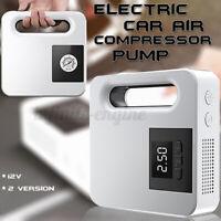 12V Led Portable Car Air Compressor Pump Tire Inflator Digital Pressure Guage