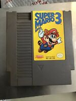 Super Mario Bros. 3 -- Nintendo NES RARE First Print Left Bros - Polished Pins