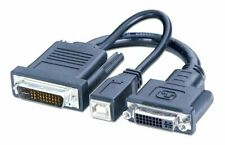 LINDY M1, M1-DA, P&D, EVC / DVI & USB Adapter für Beamer und Projektoren