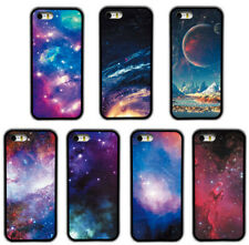 Space Rainbow  Pattern Design Rubber Phone Case Cover For iPhone / Samsung