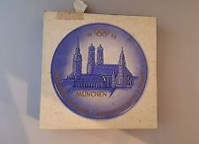Goebel Munich 1972 Olympics Frauenkirche St Peter Collector Plate West Germany