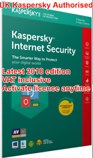 KASPERSKY Internet Security 2018 3-MultiDevice /1year SEALED VAT inc. UK