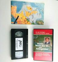 Russia World War 3 & Armageddon VHS Jack Van Impe w Map