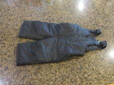 London Fog boys Girls youth Snow Ski Bib Overalls Pants Suit black Toddler 12M
