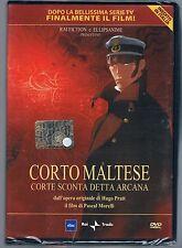 CORTO MALTESE CORTE SCONTA DETTA ARCANA DVD RAI TRADE SIGILLATO!!!