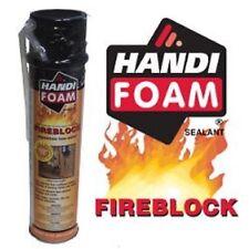 Handi-Foam Fireblock Polyurethane Straw Foam Sealant 24oz Can 12 Pack P30192