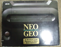 NEO GEO AES Console System Boxed neogeo SNK Ref/268505 Tested JAPAN Rare Used