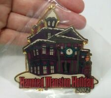 Walt Disney Travel Co Haunted Mansion Holiday 2002 Gold Tone Christmas Ornament
