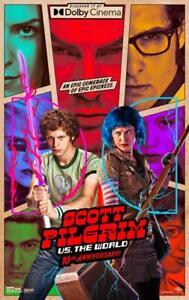 "SCOTT PILGRIM VS. THE WORLD - 11""x17"" Movie Poster Print Glossy Borderless 10th"