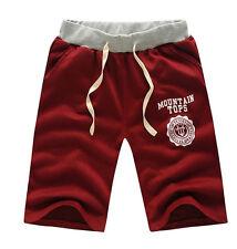 Men's Cotton Shorts Pants Gym Trousers Sport Jogging Trousers Casual NEW XAC#