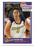 2001 FLEER TRADITION WNBA KRISTEN VEAL ROOKIE CARD (MERCURY)