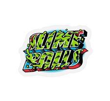 "Santa Cruz SLIME BALLS Wheels Greetings Skateboard Sticker 3.5"""