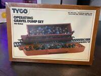 Tyco Operating Gravel Dump Set 929 Ho Scale Train SEALED