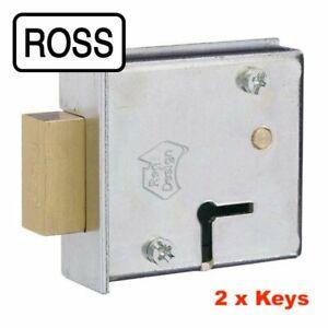 ROSS 6 Lever Key Safe Lock Model 102-2 -08952010 Keys-Gun Safe