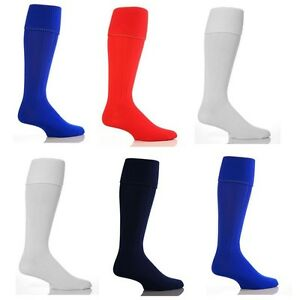 Mens/Womens Plain Football Socks Soccer Hockey Rugby Sports School PE Socks