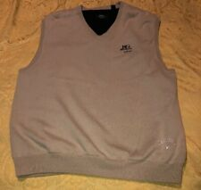 Callaway Golf X Mens Beige Large Fully Lined V-Neck Cotton Sweater Vest Tan