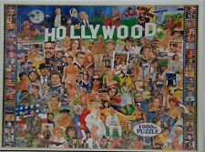 White Mountain 1000 Pc Puzzle Hollywood Movie TV Stars New in Box Sealed