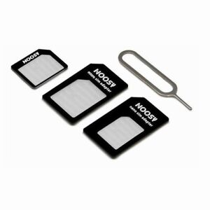 Nano Micro Sim Karten Adapter Set Nadel Universal Iphone Handy Samsung Tablet Z7