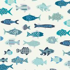 Art Gallery Fabric Catch and Release Collection School of Fish 1/2 yard