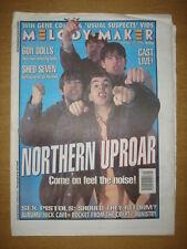 MELODY MAKER 1996 JAN 27 NORTHERN UPROAR SEX PISTOLS