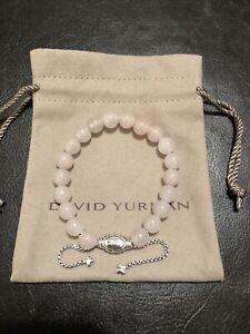 David Yurman Spiritual Beads Bracelet with Rose Quartz