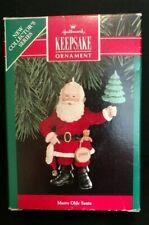 1990 Merry Olde Santa Hallmark Keepsake Ornament Christmas 1BK