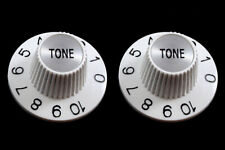 ALLPARTS Witch Hat TONE Knobs for Amps and Electric Guitars PK-3242-025 WHITE