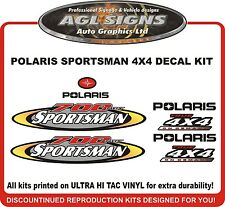 2002 POLARIS  Sportsman 700 Twin  4X4 Decal kit  reproductions