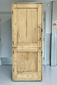 Antique country House Pine Pantry Hall Storage Linen Larder Cupboard Cabinet