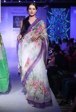 Bangladeshi Saree : Moslin Hand painted
