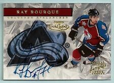 RAY BOURQUE 2000/01 TOPPS GOLD LABEL SIGNATURE AUTOGRAPH AUTO