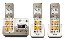 At&T El52313 3-Handset Expandable Cordless Phone with Answering System & Extra