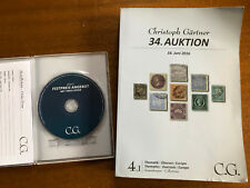 Christoph Gartner 34. Auktion 22.-27 June 2016 Auction Catalog and CD ROM