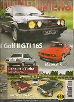 YOUNGTIMERS 46 VW GOLF GTI 16S R9 TURBO MASERATI GHIBLI MERCEDES W124 AMC PACER