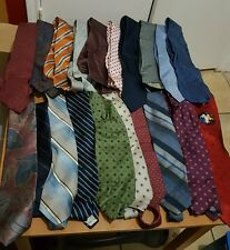 NECK TIES LOT OF 82 SILK BROOKS BROTHERS, NAUTICA, CHRISTIAN DIOR,TOMMY HILFIGER