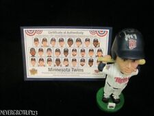 MINNESOTA TWINS 1991 WORLD SERIES BOBBLEHEADS~COMPLETE SET OF 26~HRBEK SIGNED~NI