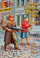 Mars Figures 32027 - 1/32 German Volkssturn Defenders WWII plastic model kit UK