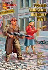 Mars Figures 32027 - 1/32 German Volkssturn Defenders WWII plastic model kit