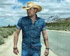 Jason Aldean signed Country 8X10 photo picture poster autograph RP