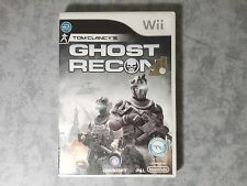 TOM CLANCY'S GHOST RECON NINTENDO WII e WIIU U PAL ITALIANO COMPLETO COME NUOVO