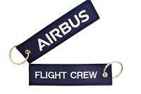 Schlüsselanhänger AIRBUS / FLIGHT CREW in Blau - ähnlich Remove Before Flight
