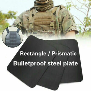 IIIA Stand Alone Steel Plate Safety Body Armor Military Police Bulletproof Panel