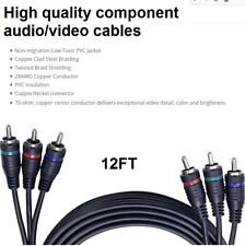 ALL SYSTEMS BROADBAND RCD - 12ft - HDTV VIDEO - 3 COMPONENT  CABLE - ASB3700-12