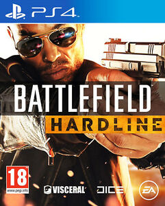 Battlefield Hardline ~ PS4 Shooter/Shoot 'em up (in Good Working Condition)