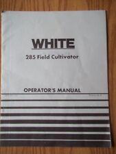 OLIVER WHITE 285 Field Cultivator Operators Setup Repair Operating Manual