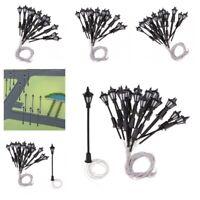 Fairy Garden Miniature 20pcs Post Led Lamps Designed For Dollhouse Accessories