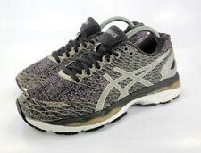 ASICS Gel-Nimbus 18 Running Training Womens Size 9.5 Shoes Black Silver T650N