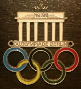 Plakette Automobilplakette XI.Olympiade Berlin 1936