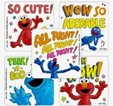Sesame Street Height and Weight Large Stickers 15 Elmo I/'ve Grown