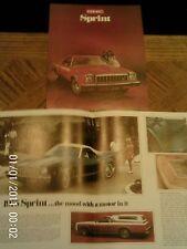 1975 Original GMC Sprint Sales Brochure